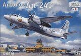 Ан-24Т транспортный самолет - 72160-01 Amodel 1:72
