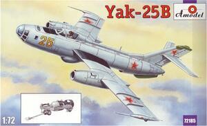 Як-25Б - 72185 Amodel 1:72