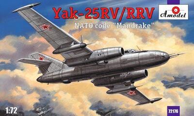 Як-25РВ/РРВ - 72176 Amodel 1:72