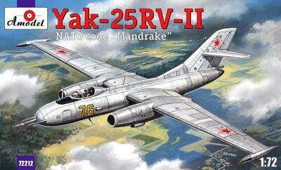 Як-25РВ-II - 72212 Amodel 1:72