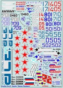 Демо-версии самолетов семейства Су-27 - Масштаб 1/48