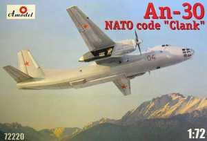 Ан-30 самолет наблюдения - 72220 Amodel 1:72