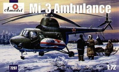 Ми-3 - 7297 Amodel 1:72