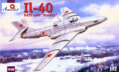 Ил-40 - 72158 Amodel 1:72
