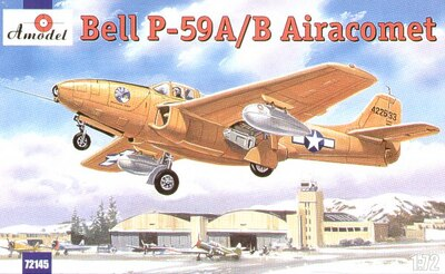 P-59 Bell - 72145 Amodel 1:72