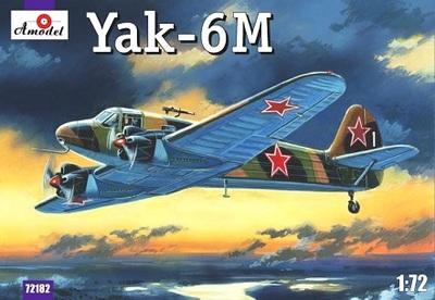 Як-6М - 72182 Amodel 1:72