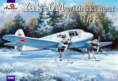 Як-6М - 72181 Amodel 1:72
