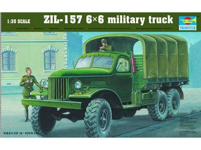 ЗиЛ-157 армейский грузовик - 01001 Trumpeter 1:35