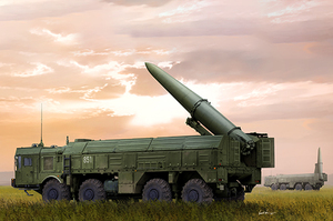 Искандер-М 9P78-1 ТПУ комплекса 9К720 - 01051 Trumpeter 1:35
