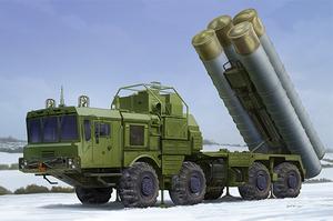 40N6 of 51P6A TEL S-400 (ЗРК С-400 на шасси 51П6А) - 01057 Trumpeter 1:35