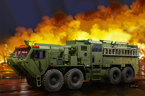 M1142 Tactical Fire Fighting Truck (TFFT) тактическая пожарная машина - 01067 Trumpeter 1:35