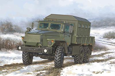 Ural-4320 CHZ бронированный грузовик - 01071 Trumpeter 1:35