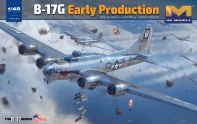 B-17G Flying Fortress бомбардировщик - 01F001 HK Models 1:48