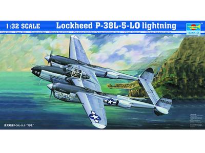 P-38L-5-L0 Lightning истребитель - 02227 Trumpeter 1:32