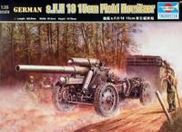 s.F.H18 15-cm тяжелая полевая гаубица. 02304 Trumpeter 1:35