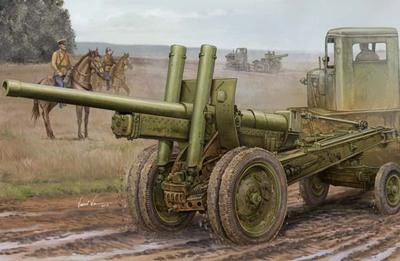 А-19 122-мм пушка обр.1931/1937 - 02325 Trumpeter 1:35