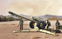 Д-30 122-мм гаубица - 02328 Trumpeter 1:35