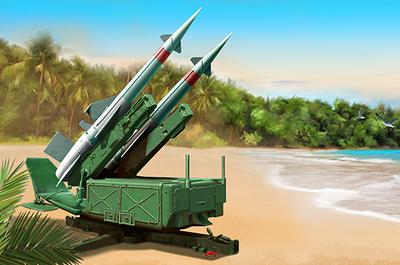 5П71 Печора с ракетой 5В27 (SA-3B Goa) ЗРК - 02353 Trumpeter 1:35
