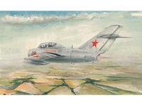 02805 МиГ-15 УТИ (Miget) учебный истребитель 1:48