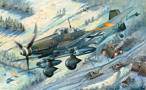 Junkers Ju 87G-2 (Ю-87Г-2) Stuka - 03218 Trumpeter 1:32