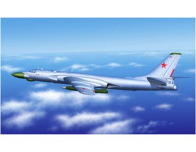 Ту-16К-10 (Badger C) бомбардировщик - 03908 Trumpeter 1:144