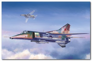 МиГ-27 истребитель-бомбардирощик - 05802 Trumpeter 1:48
