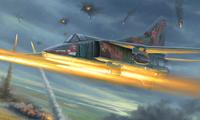 МиГ-27М истребитель-бомбардировщик - 05803 Trumpeter 1:48
