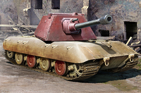 E-100 Krupp Turret проект тяжелого танка - 09543 Trumpeter 1:35