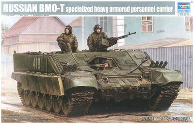 БМО-Т тяжелая боевая машина огнеметчиков - 09549 Trumpeter 1:35