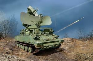 1С91 СУРН ЗРК Куб (1S91 Kub Radar) - 09571 Trumpeter 1:35