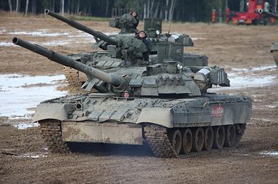 Т-80УЕ-1 основной танк - 09579 Trumpeter 1:35