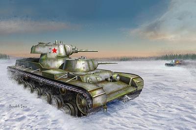 СМК тяжелый танк - 09584 Trumpeter 1:35