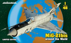 МиГ-21бис истребитель - 11135 Eduard 1:48