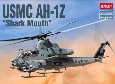 USMC AH-1Z Shark Mouth - 12127 Academy 1:35