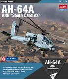 AH-64A ANG South Carolina ударный вертолет - 12129 Academy 1:35