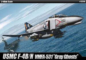 USMC F-4B/N VMFA-531 Gray Ghosts - 12315 Academy 1:48