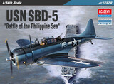 SBD-5 Battle of the Philippine Sea пикирующий бомбардировщик - 12329 Academy 1:48