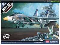 USN F-14A VF-143 Pukin Dogs - 12563 Academy 1:72