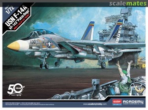 USN F-14A VF-143 Pukin Dogs - 12563 Academy 1:72