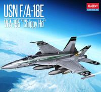 USN F/A-18E VFA-195 Chippy Ho - 12565 Academy 1:72