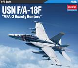 F/A-18F VFA-2 Bounty Hunters истребитель-бомбардировщик - 12567 Academy 1:72