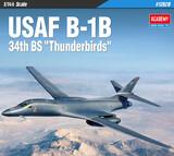 Rockwell B-1B Lancer бомбардировщик - 12620 Academy 1:144