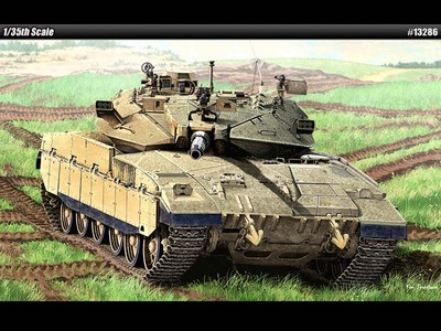 Merkava Mk.IID основной танк - 13286 Academy 1:35