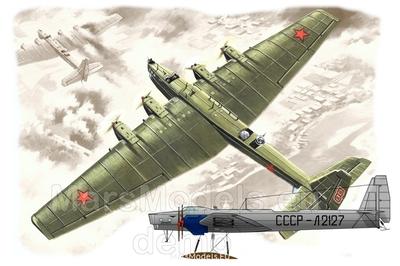 ТБ-3-4М-17/Г-2 тяжелый бомбардировщик - 144001 Mars Models 1:144
