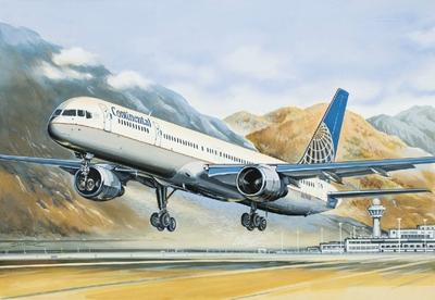 Б-757-300 Авиалайнер Континентэл (B753 Continental) - 14426 Восточный Экспресс 1:144