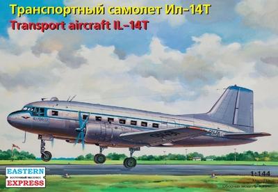 Ил-14Т Транспортный самолет ВВС/Аэрофлот - 14473 Восточный Экспресс 1:144