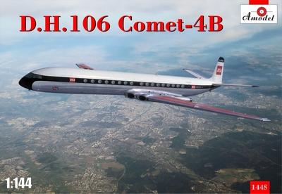 D.H.106 Comet-4B - 1448 Amodel 1:144