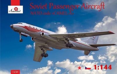 Ту-104 - 1450 Amodel 1:144