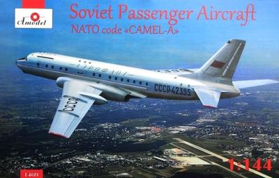 Ту-104 - 1469 Amodel 1:144
