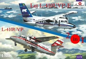 Let L-410UVP-E & L-410UVP - 1472 Amodel 1:144